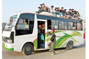 सार्वजनिक यातायातमा बढ्यो २८ प्रतिशतले भाडा