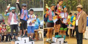 साइकल रेस प्रतियोगिताको उपाधि महिला तर्फ लक्ष्मी र पुरुष तर्फ रुवेन (२५ तस्विर सहित)