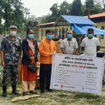 उदयपुर कोभिड अस्पताललाई स्वास्थ्य सामाग्री सहयोग