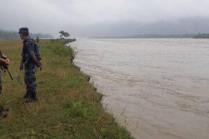 सप्तकोशी नदीको कटानले बेलकाका २५ सय परिवार उच्च जोखिममा